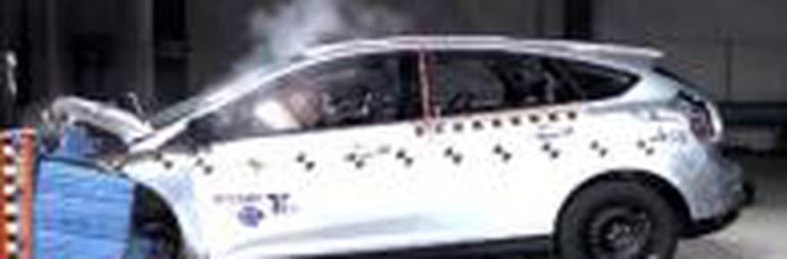 Crash-tests 2012: les berlines compactes lesplussûres