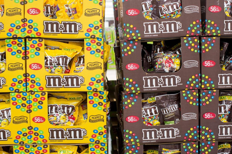 Manger M&M's ou Napolitain favoriserait des cancers — Dioxyde de titane