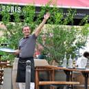 Brasserie Chez Boris  - Cedric en terrasse -