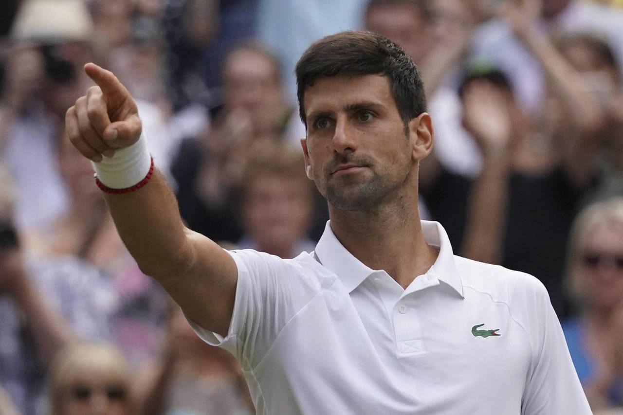 Wimbledon: Djokovic au sommet, le palmarès de l'édition 2019