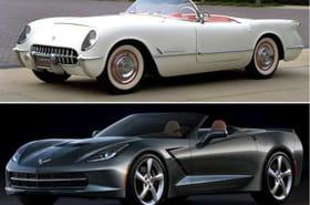 La Corvette fête ses 60ans