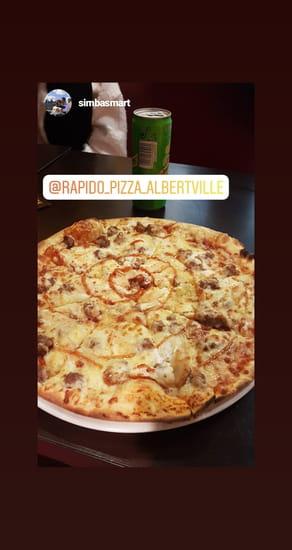 Restaurant : Rapido Pizza  - Pizza Buffalo -   © Rapido pizza