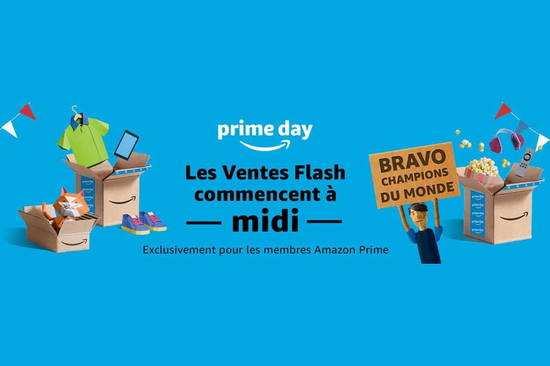 Amazon lance le Prime Day 2018 à midi — Promotions