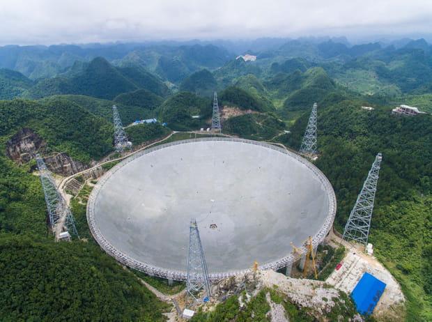 FAST, en Chine:le nouveau plus grand télescope du monde