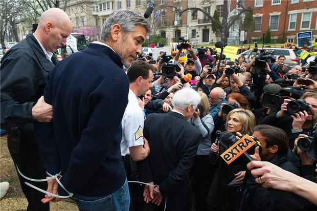 George Clooney arrêté à Washington