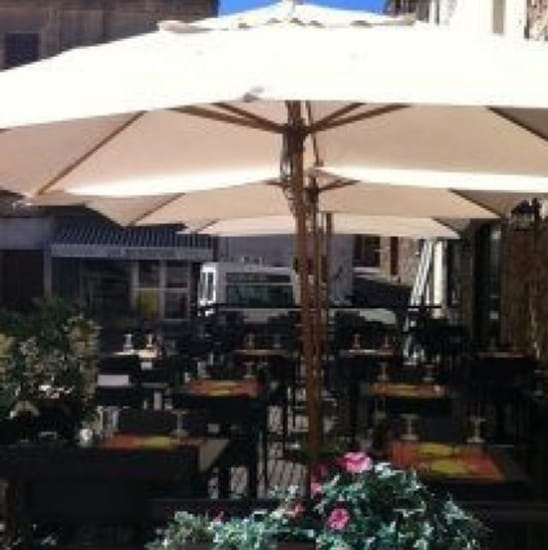Restaurant : A piazza  - Terrasse  -