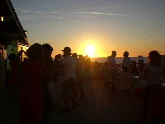 Barrio del Mar  - coucher de soleil -
