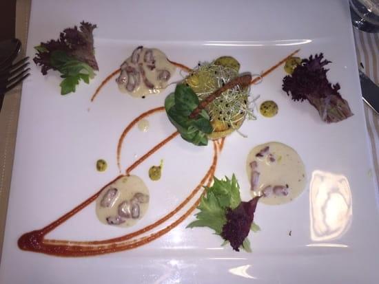 Entrée : L'Orchidée - Restaurant de l'hôtel Aloé