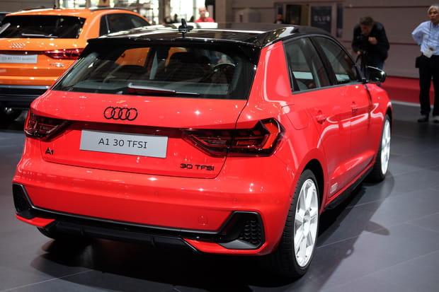 Un lifting sportif pour l'Audi A1