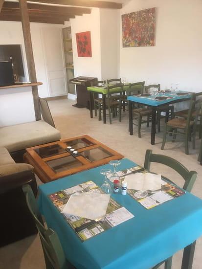 Restaurant : Restaurant du Café du Pont  - Vue de la salle de restaurant -   © 5