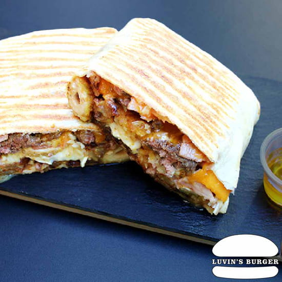 Plat : Luvin's Burger  - Tacos – Le Mielleux -   © Luvin's Burger