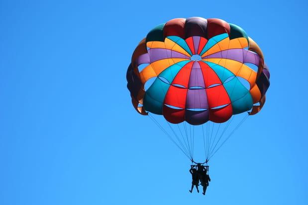 Un parachute