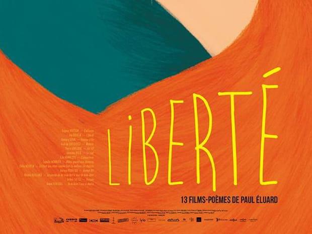 Liberté 13films-poèmes de Paul Eéluard