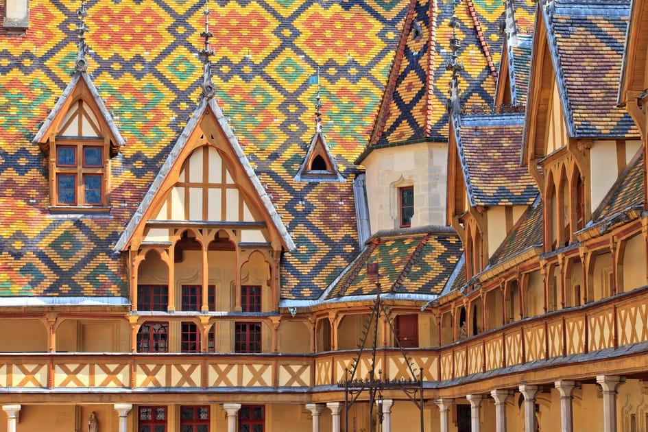 L'Hôtel-Dieu de Beaune en Côte-d'Or