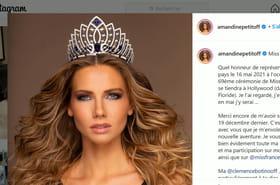 Vidéo. Miss Univers : Amandine Petit défilera en Marianne