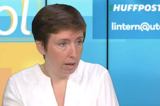 """Pour Caroline de Haas, Macron """"valide le fait qu'on peut être homophobe et ministre"""""""