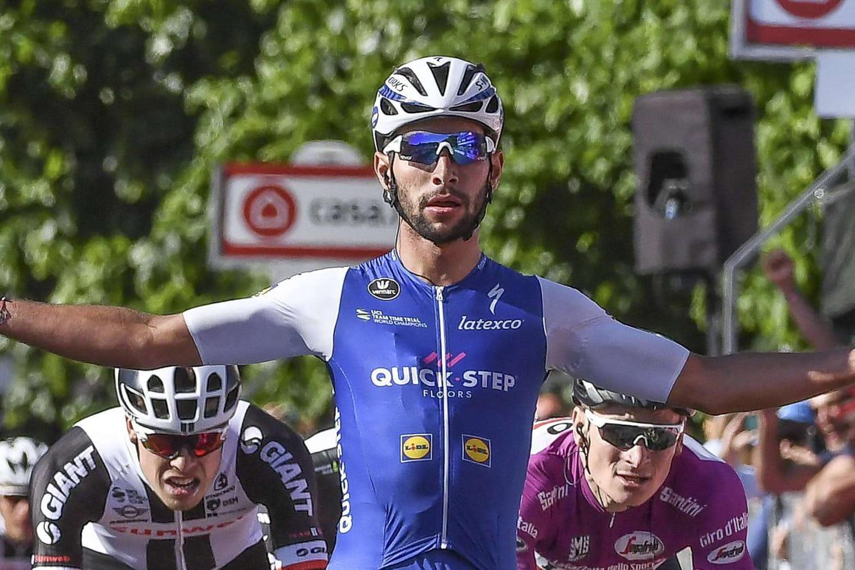 12e étape du Giro: passe de trois pour Gaviria