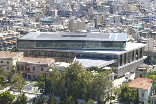 L'Acropole d'Athènes s'offre un nouveau musée