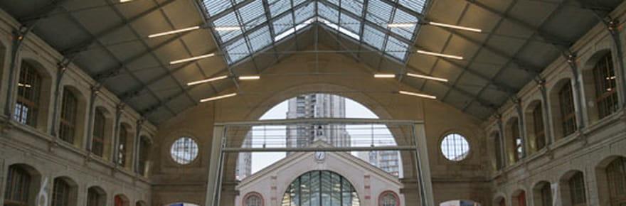 Visite du Centquatre, nouvel espace culturel de Paris