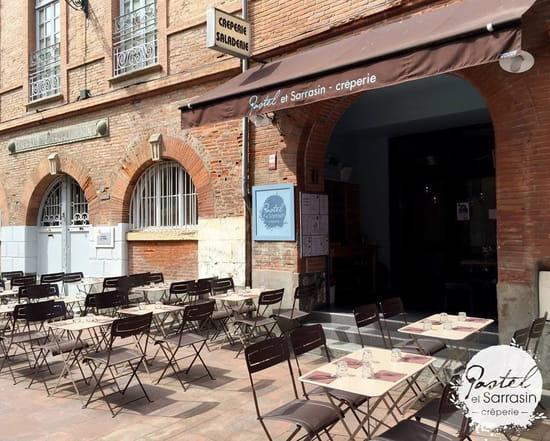 Crêperie Pastel et Sarrasin  - Terrasse -