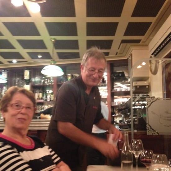 Restaurant : Les Saveurs  - Le patron..;)) -