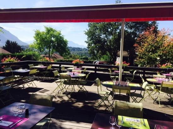 """Restaurant : Restaurant """"L'Auberge d'Argonay""""  - Terrasse plein sud -"""