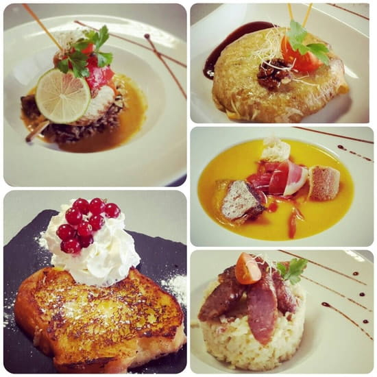 Plat : Restaurant le M