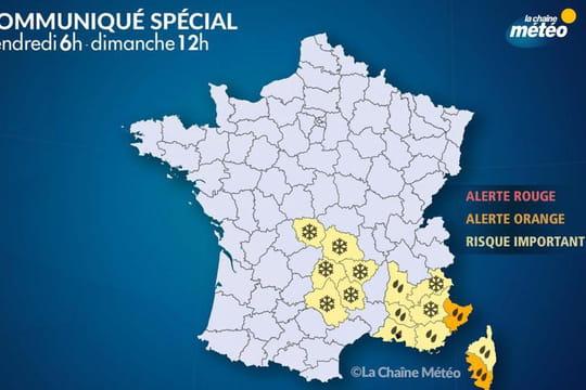 Neige et pluie: attention aux précipitations! Les prévisions Météo France