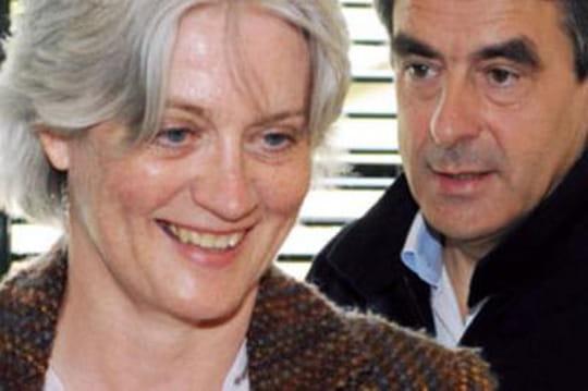 Lafemme deFrançois Fillon candidate auxmunicipales 2014à Solesmes