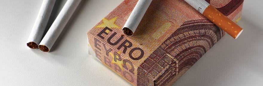 Prix du tabac: cigarettes, tabac à rouler, en France et à l'étranger