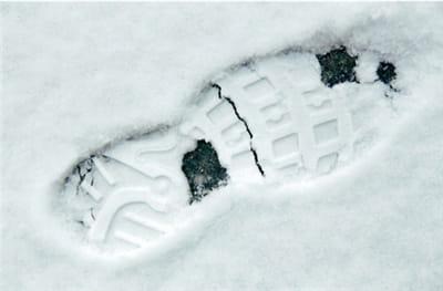 le yéti est également qualifié de bigfoot en raison de ses énormes empreintes