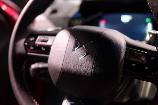 Zoom sur le volant