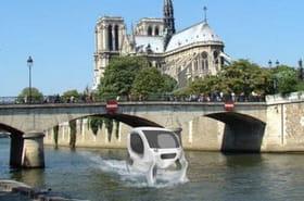"""Des taxis """"volants"""" sur la Seine bientôt en service à Paris"""