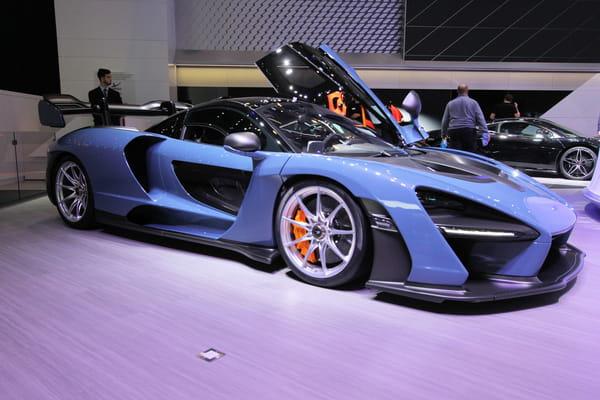 Salon de Genève : découverte de la McLaren Senna