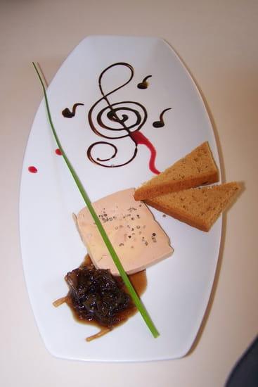 Restaurant le 8  - Foie gras mi cuit au monbazillac -   © Audy Jérôme