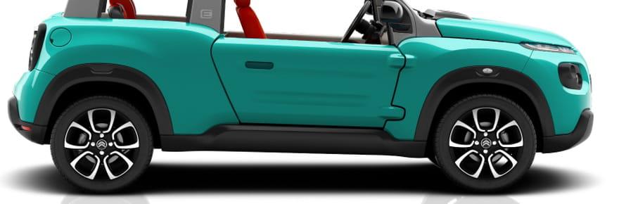 Citroën e-Méhari : comment fonctionne ce cabriolet électrique ?