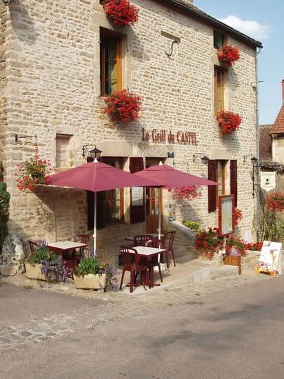 Le Grill du Castel  - le restaurant -   © c roy