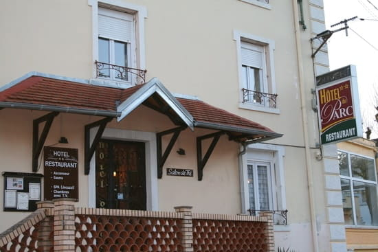 Hôtel du Parc  - Vue de l'entrée -