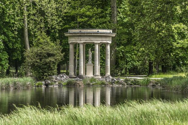 Le jardin anglais du domaine de chantilly for Jardin anglais chantilly