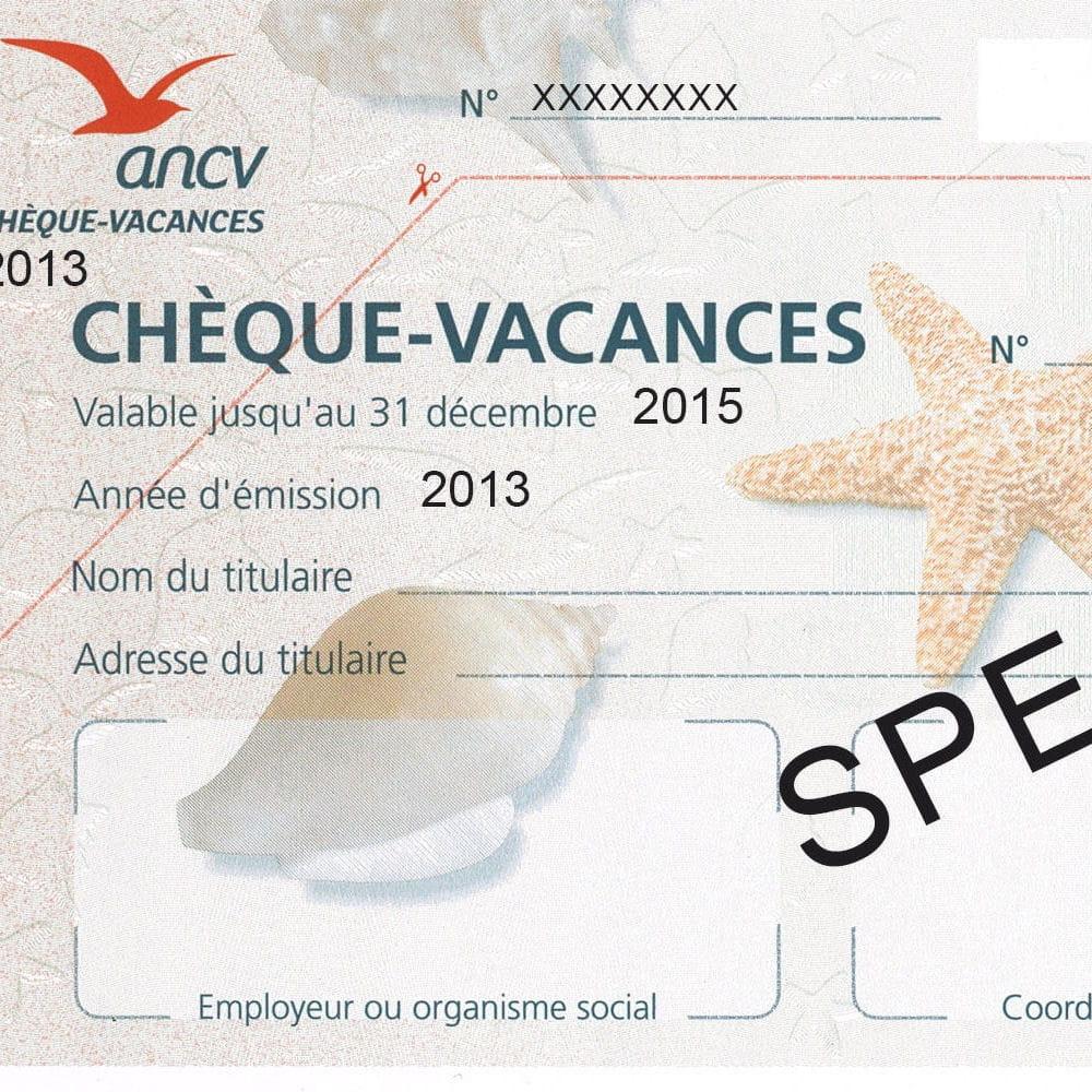 Payer En Cheque Vacances Avec Le Billet De Conge Annuel