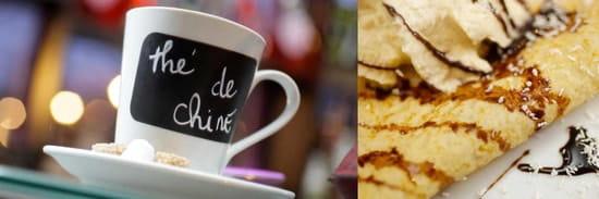 Café des Thermes  - salon de thé du Café des Thermes  -   © Pix by not