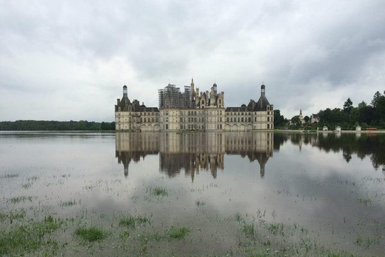 Coloriage Chateau De Chambord.Inondation A Chambord Le Chateau Submerge Lui Aussi Photos
