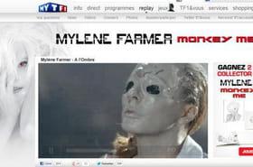 A l'ombre: le clip haut perché de Mylène Farmer intrigue