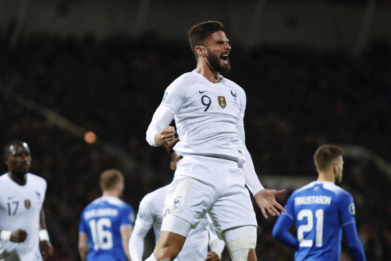 Islande - France: un penalty de Giroud sauve les Bleus, le résumé du match