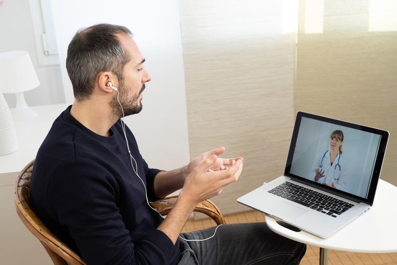 Pas le temps de vous déplacer: pensez à la téléconsultation