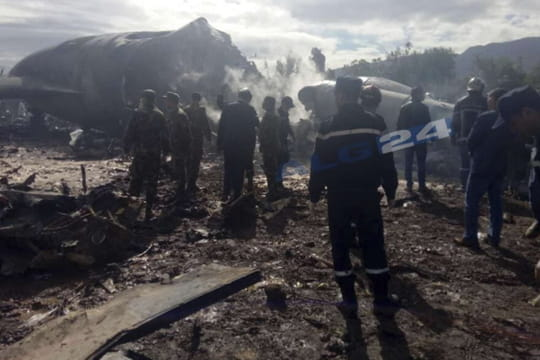 Crash d'avion en Algérie (Boufarik) : les images de la catastrophe