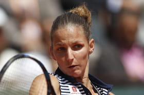 Garcia - Pliskova: la Française battue, le score du match