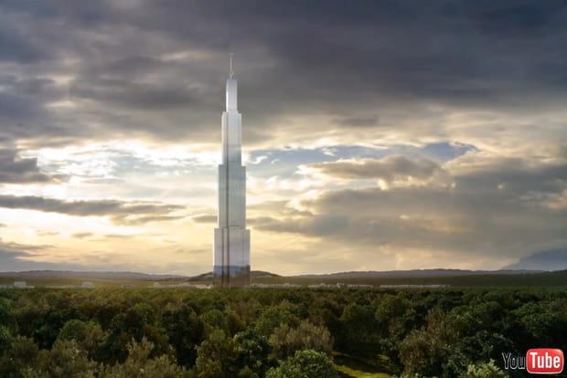 Sky city la tour la plus haute du monde changsha - Projet tour la plus haute du monde ...