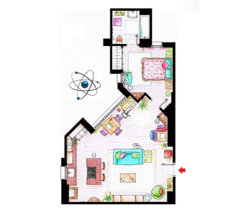 The big bang theory l 39 appartement de penny - Lappartement high tech high end varsovie ...