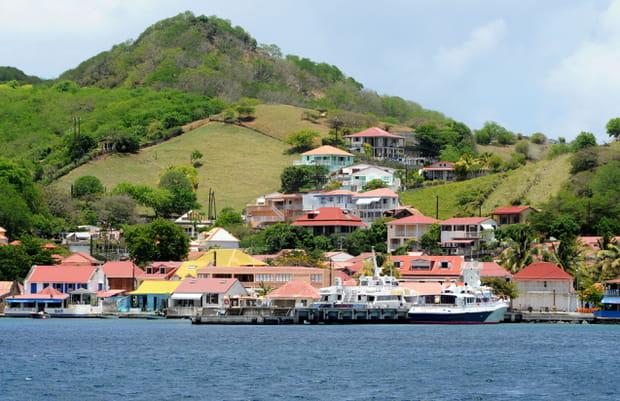 Arrivée aux Îles des Saintes